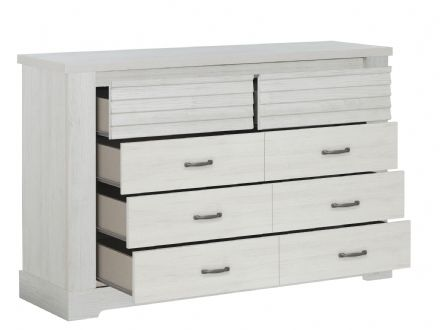 Thelma Chest of Drawers, 2+3 Drawers White